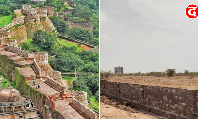 Longest Wall In India
